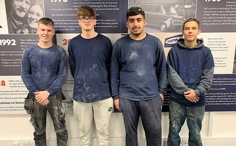 Apprentices bringing 'different dynamic' to MPM