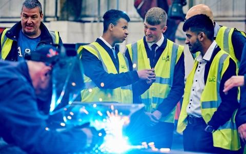 Engineering apprenticeships on display at Leeds Welding
