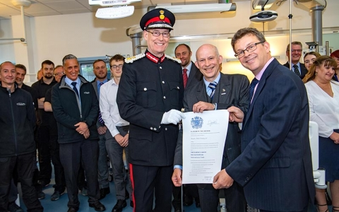 Brandon Medical receives second Queen's Award